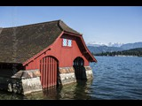 Boat House On Lake Lucerne - Lucerne Switzerland-14
